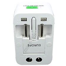 Multi-Universal AU/UK/US/EU Travel Wall Power Charger Adapter Converter Plug NEW