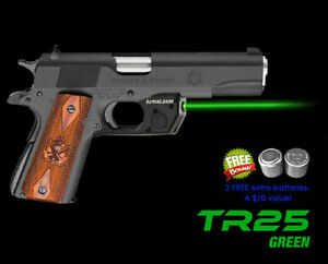 Arma Laser TR25G Green Laser Sight for Full-Size Springfield & Kimber 1911