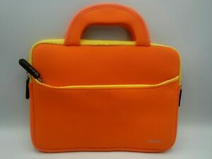 8.9 - 10.1 Inch Tablet Sleeve, Evecase 8.9 ~ 10.1 Inch Ultra-Portable Orange