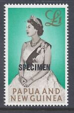 Mint Never Hinged/MNH Independent Nation Pre-Decimal Papua New Guinean Stamps