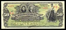 El Banco de Coahuila 50 Pesos 2.05.1914, M170b / BK-COA-21 XF. Rare Condition.