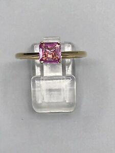 18ct PINK SAPPHIRE RING