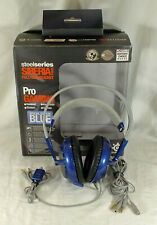 IOB Special Edition Blue SteelSeries Siberia v2 Full-Size Gaming Headset MINT