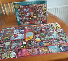 1000 piece jigsaw puzzles. Complete and in excellent condition.