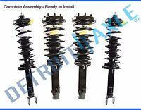 4pc Front & Rear Struts Kit for 2008 2009 2010 2011 2012 Honda Accord 2.4L