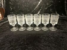 Set of 6 Wexford Claret (Wine) Glasses