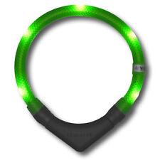 Leuchthalsband Leuchtie plus Neongrün - 55