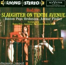 Slaughter On Tenth Avenue, Di Rodgers, Arthur Fiedler - CD Rca Living Stereo