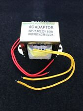 Power Supply Transformer 16.5V/2A