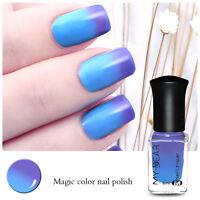 6ml Thermal  Nail Art Varnish Polish Color Changing Peel Off