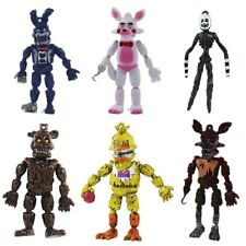 Five Nights At Freddy's Video Game FNAF Action 6 Mini Figures Toys Bonnie Foxy