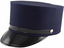 Train Conductor Gendarme French Police Man Hat Porter Brakemans Costume Cap