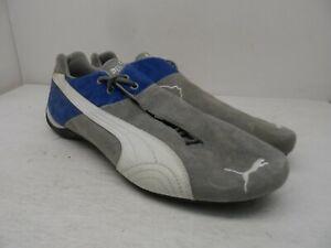 Puma Men's Running Shoes Grey/Blue Size 13M