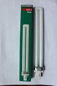 Sylvania Lynx S G23 2 pin 11w compact fluorescent lamp bulb warm white 827 2700k