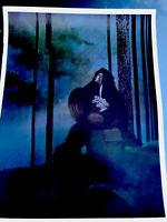 Bernie Wrightson Waiting Christopher Enterprises print 1977 vintage rare