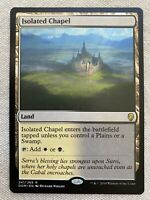 1x ISOLATED CHAPEL Dominaria Rare DOM MTG - NM/MT Unplayed EDH Pioneer