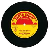 """JERRY McCAIN The Jig's Up / Twist 62 R&B 45 (OUTTA SIGHT) 7"""" NORTHERN SOUL"""