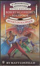 Revolt on Majipoor, Matt Costello. A Crossroads Adventure. In Stock in Australia