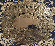 INTERNATIONAL SiLVER COMPANY PLATED EXPANDABLE TRIVET HOT PLATE HOLDER UNUSED