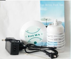 Simple Ionic Detox Detoxification Cell Cleanse Foot Bath Spa w Arrays Home Use