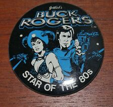 Gottlieb's Pinball Buck Rogers Button pin badge 80 S le PINS Vintage