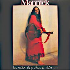 MANNICK les mots difficiles à dire.. LP 1983 SUYADA garder sa terre au bresil++