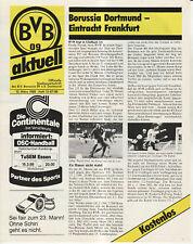 BL 87/88 Borussia Dortmund - Eintracht Frankfurt