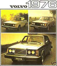 1976 VOLVO FACTORY BROCHURE-VOLVO-242-244-245-264-265