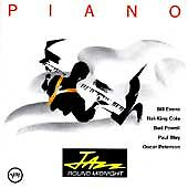 Jazz 'Round Midnight: Piano by Various Artists (CD, Feb-1991, Verve)