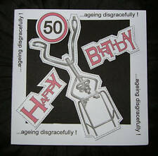 Zimmer Walking Frame funny 50 Birthday Card The Fogeys