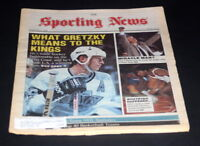 THE SPORTING NEWS COMPLETE NEWSPAPER FEBRUARY 6 1989 WAYNE GRETZKY