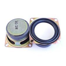 2Pcs 3W 2 inch 4Ohm 52mm Full Range Audio Stereo Speaker Woofer Loudspeaker Kit!