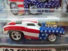 Muscle Machines - '63 Chevy Corvette - September 11, 2001 - Stars & Stripes