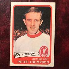 1968/69 A&BC Footballer Set PETER THOMPSON #60 LIVERPOOL - VG