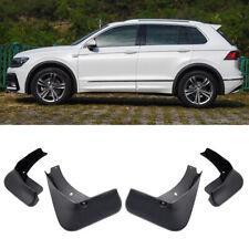 4 Mud Flaps Splash Guards Fender Car Mudguard for VW Tiguan R-Line 2018 2019-Up