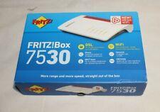 Fritz!Box 7530 Wireless Router WLAN AC+N Router (DSL/VDSL, 866 MBit/s (5GHz)