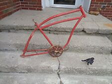 "WAR ERA ELGIN FRAME & PARTS BOYS/MEN 26"" BALLOONER REPAINTED/DIRTY/GOOD"