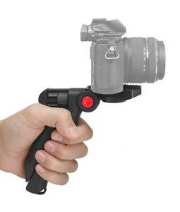 Pistol Grip Tabletop Tripod 4 Canon Nikon Sony Pentax Panasonic GoPro Smartphone
