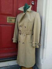 Vintage allander Casa Fraser de doble abotonadura Abrigo, Manta Forrado Medio