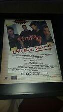 Stroke 9 Little Black Backpack Rare Original Radio Promo Poster Ad Framed!