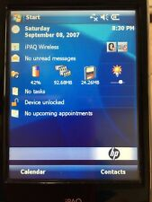 """HP iPaq 210 Handheld PDA Windows Mobile Pocket PC - Grade A"