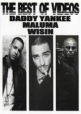 DADDY YANKEE MALUMA WISIN THE BEST OF 36 Music Videos DVD REGGAETON URBANO LATIN