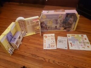 New Barbie 1990's Happy Family Grandma's Kitchen Play Set As-Is Not Complete
