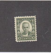 CANADA (MK6159) # 190 VF-MLH  10cts 1931 GEORGE-ETIENNE CARTIER /DK GREEN CV $20