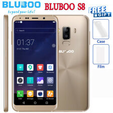 "Oro 5.7"" Android 7.0 Bluboo S8 4G Smartphone OctaCore 3GB+32GB Cellulare 13MP IT"