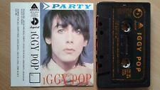 Iggy Pop – Party YUGOSLAVIAN CASS TAPE 1981. FREE SHIPPING