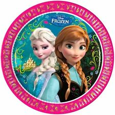 Disney Frozen 8 Paper Party Plates 23cm Fast 1st Class Post