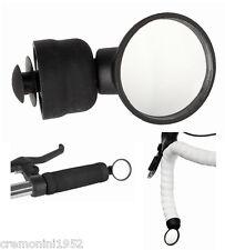 Specchio specchietto mtb bicycle bici corsa bike rearview mirror micro manubrio