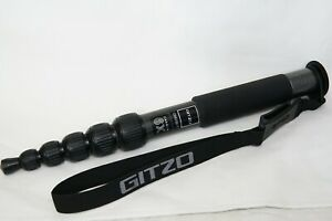 Gitzo GM2561T Carbon Fiber Travel Monopod - 6 segments - under 12oz - mono pod