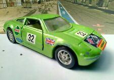 Corgi toys 316 whizzwheels Ford GT 70 verde metalizado Decals top 1/43 usado!!!
